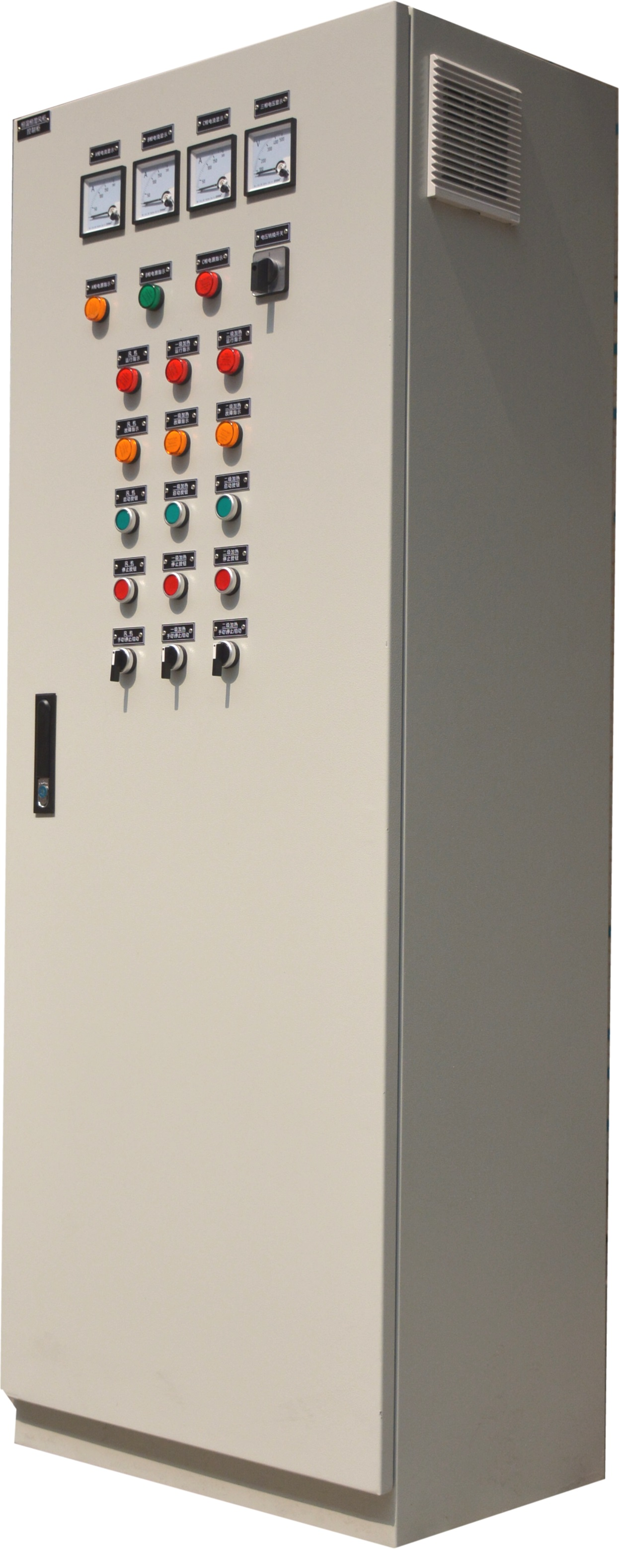 Sewage treatment control cabinet