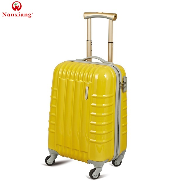 Nnaixnag ABS hard shell trolley luggage suitcase set for travel