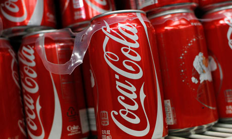 canned coca cola drink