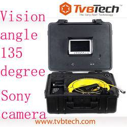 Drain pipe Inspection Camera System with 30m (or 20m, 40m) cable for Sewer Camera