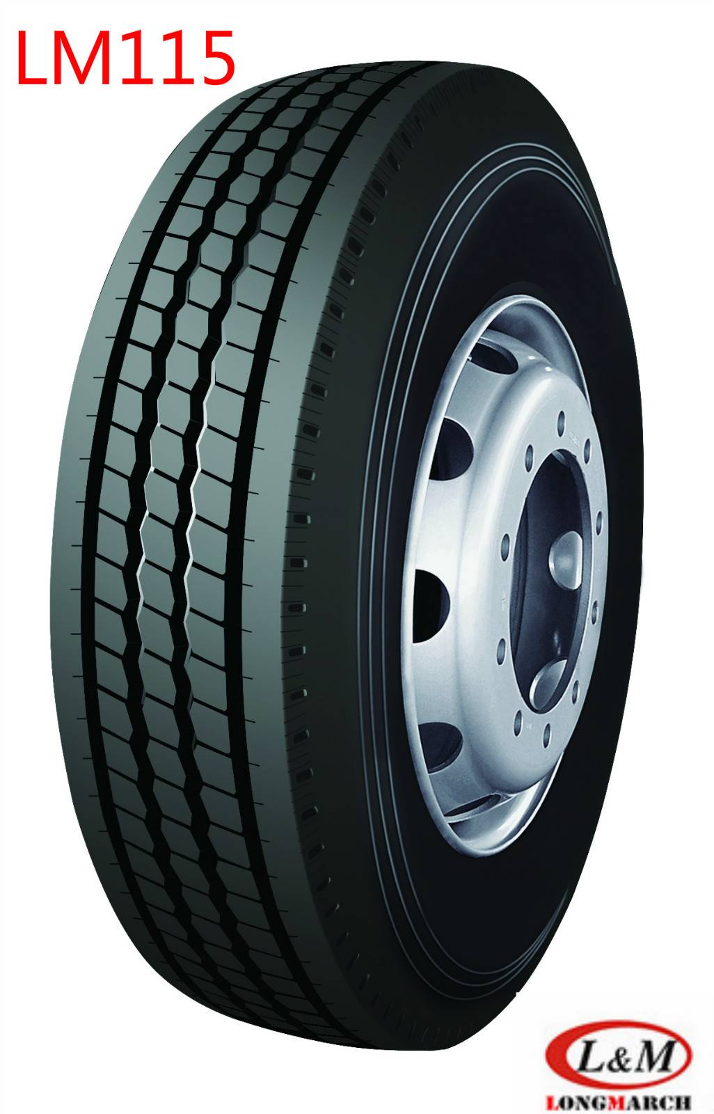 Long March Roadlux All Position Trailer Drive Steer Radial Truck Tire (LM115)