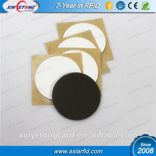 Passive RFID I-CODE SLI Anti-Metal Tag Label, 3M Glue Sticker, ISO15693, China Manufacturer