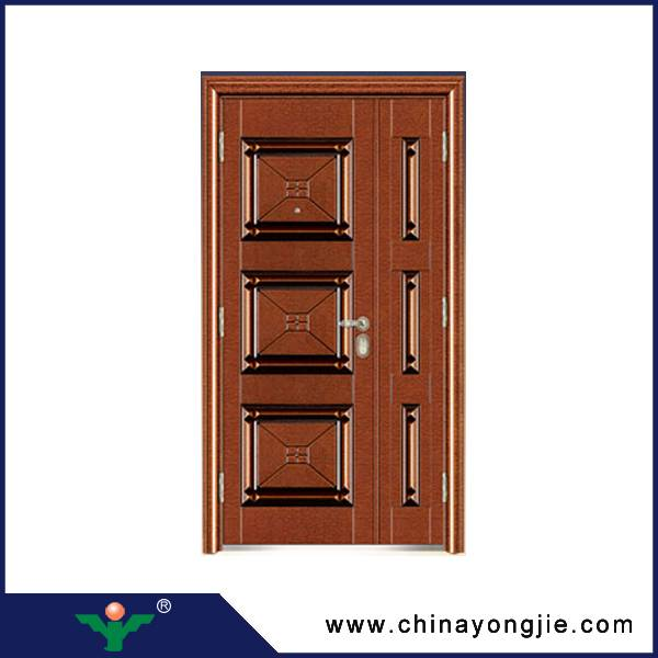 Yujie china modern security steel entrance doors and windows Quality Assured