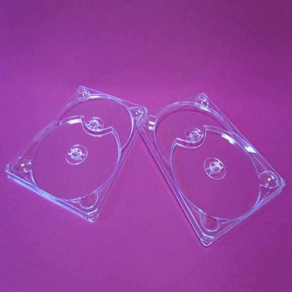 Clear cd&dvd digi tray