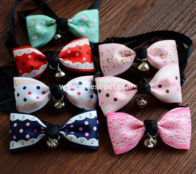 Bow Ties for Pet Dog Grooming Bows Totally Handemade