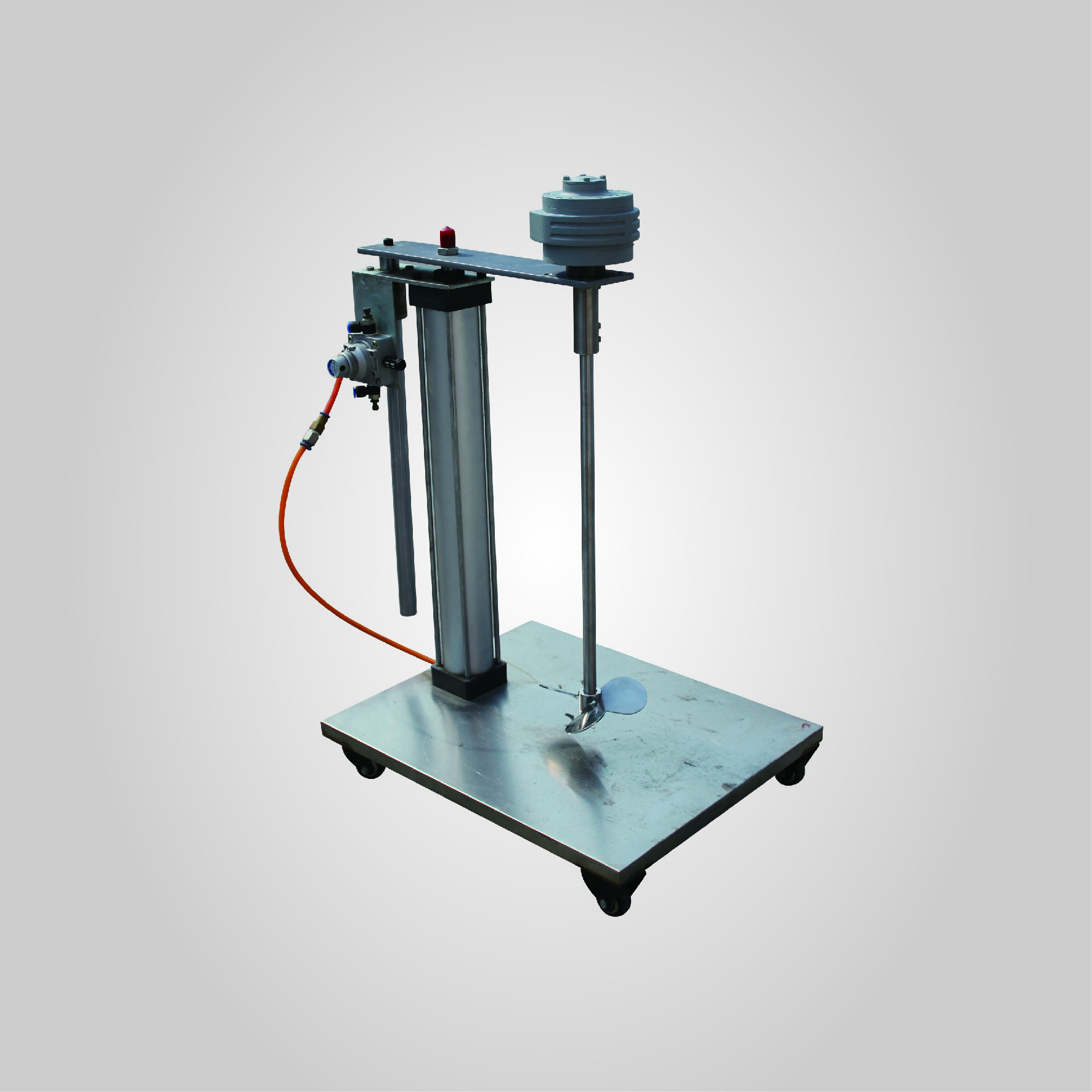 Air driven stirrer (AUTOMATIC LIFTING STYLE)
