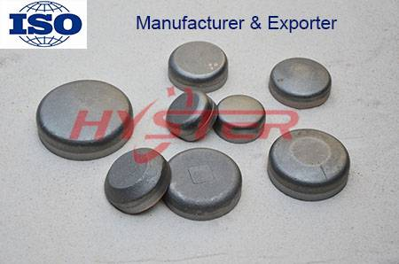 Domite White Iron Wear Buttons