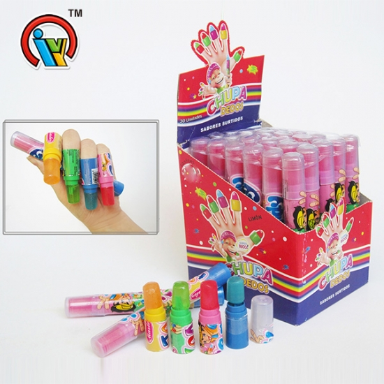 Funny Finger Lollipop Toys Hard Candy