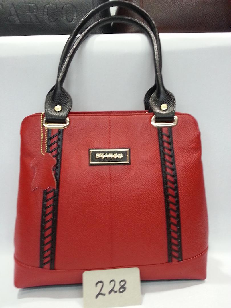 Ladies Bag Black & Red color