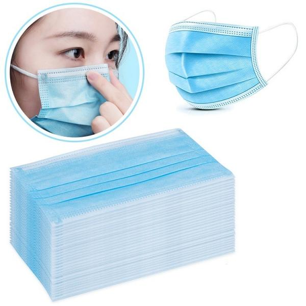 Non Woven Surgical Disposable Masks With Good Elastic Ear - Loop