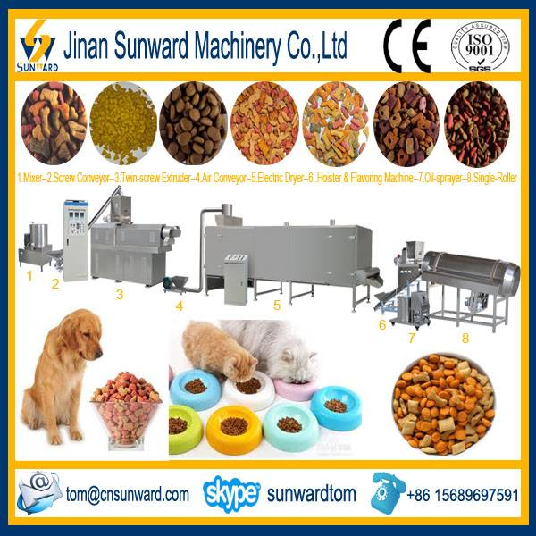 Pet Food Pellet Processing Line Machinery