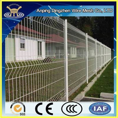 CURVED WIRE FENCING