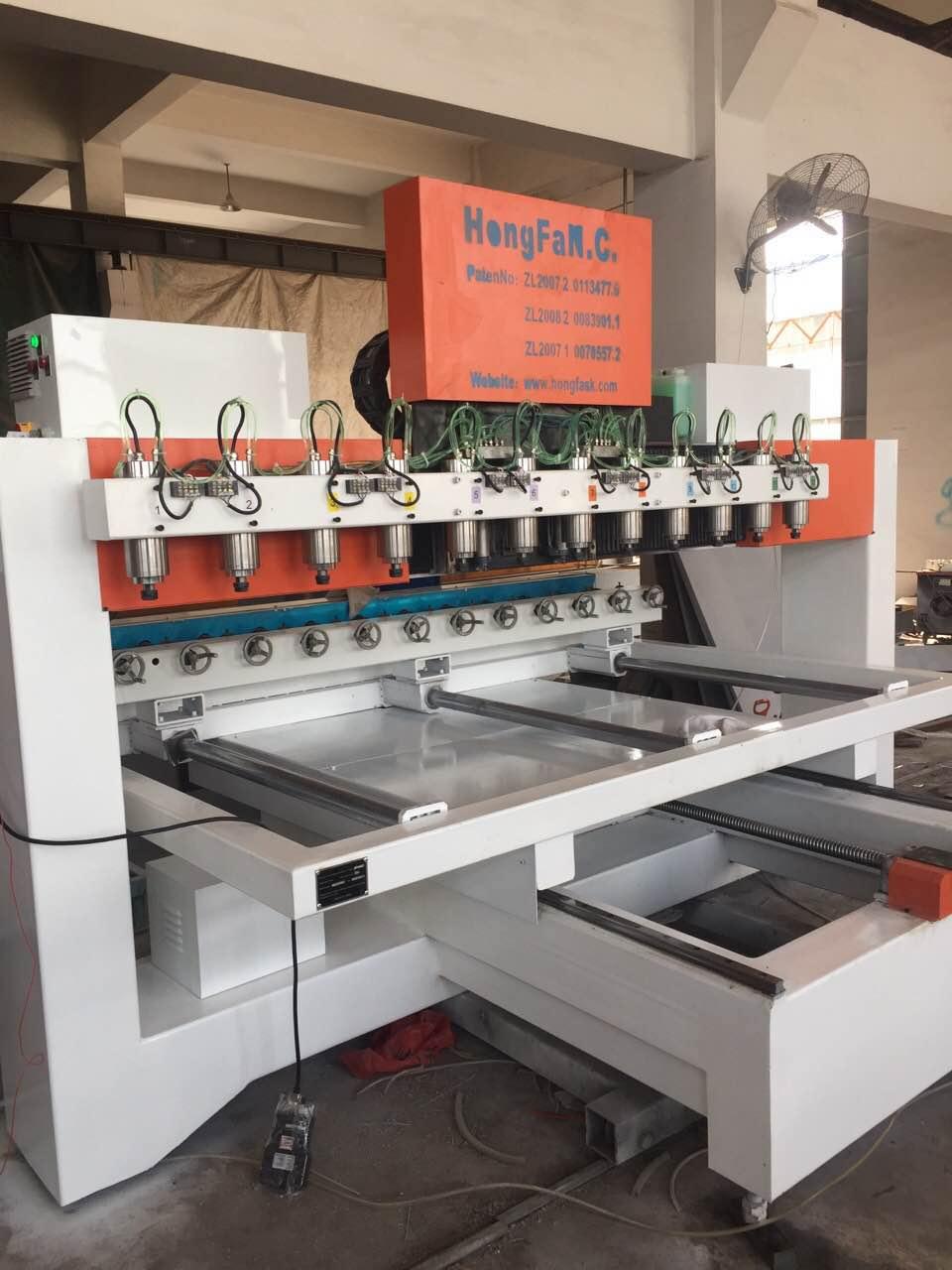 hongfa 4 axis cnc engraving machine 12021 12 head rotary engraving machine