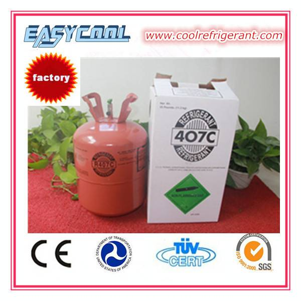 chemicals for car 11.3kg air conditioning refrigerant gas r407c