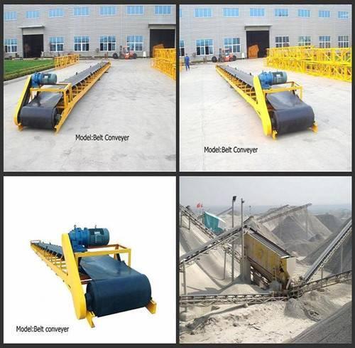 high efficiency B type belt conveyor machine