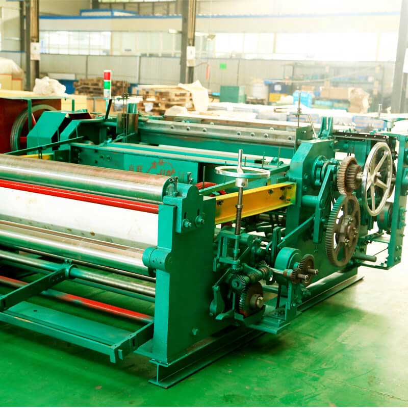 1600MM Light-duty Wire Mesh Weaving Machine ZWJ-1600B