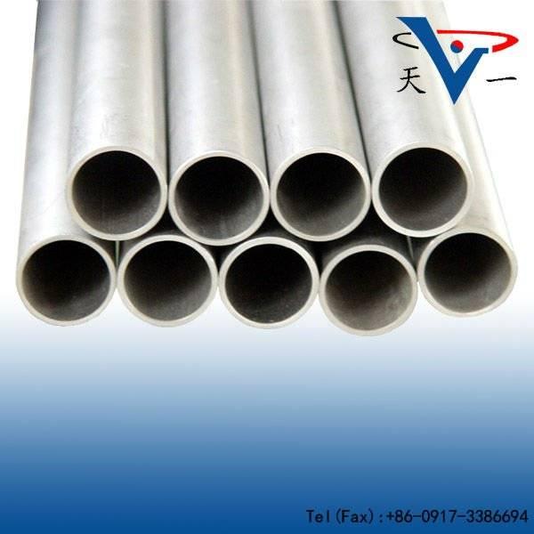 ASTM b337 GR5 titanium pipe