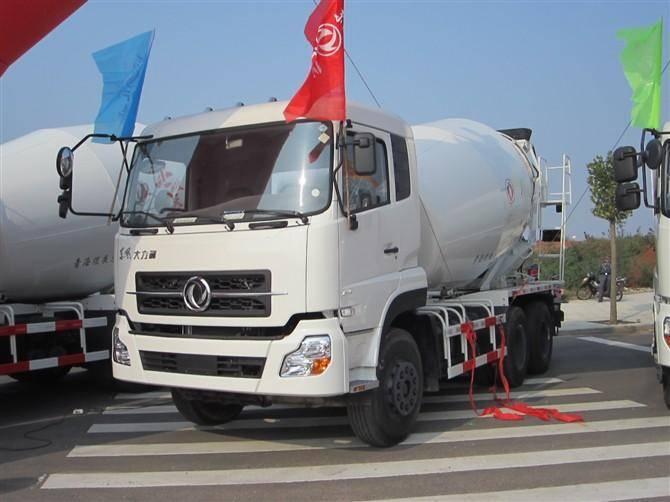 10-12 Cubic Meter Concrete Mixer Truck DFL5251GJBAX1