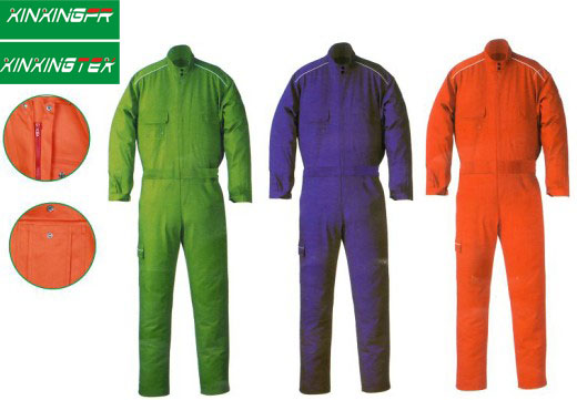 Flame retardant fabric for safety Coverall , Jacket & Pants