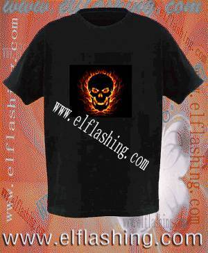EL Sound Acitve Flashing T-Shirt