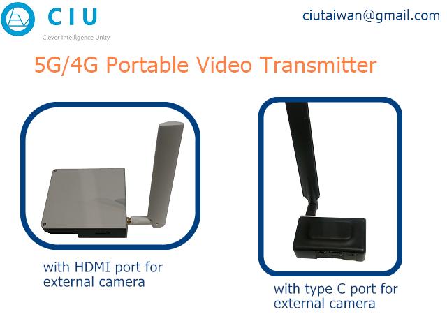 Portable 5G 4G Video Transmitter