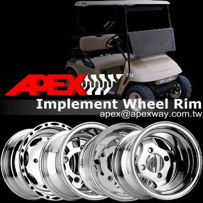 Golf Cart Alloy Wheel