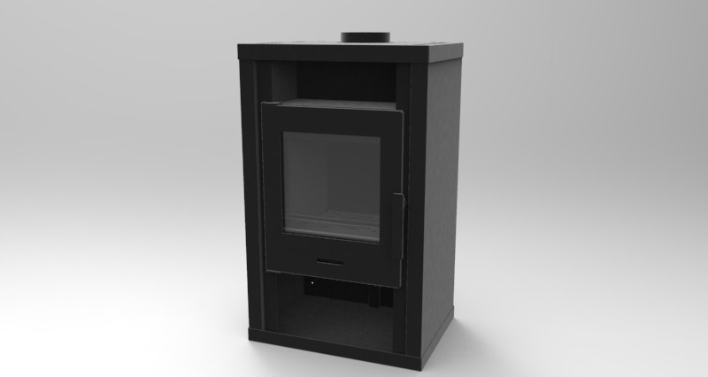 WT-22 wood stove fireplace