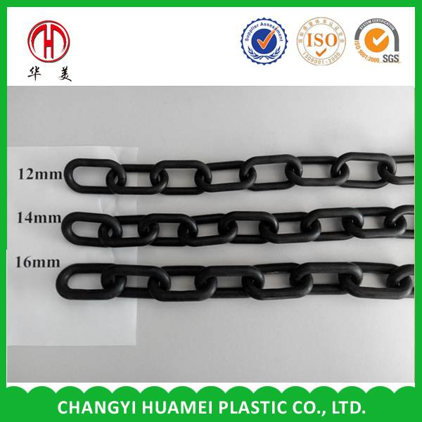 plastic warning link chain