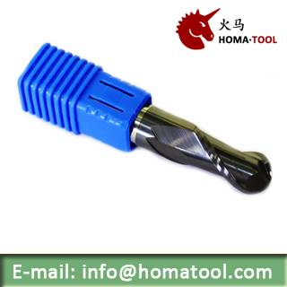 Ball Nose Solid End Mill for Machining General Steel