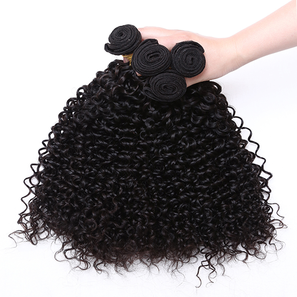 Hair extensions natural black human virgin hair curly brazilian hair peruvian hair weave cheap price