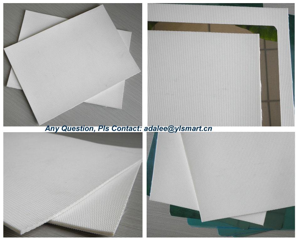 White Silicon Rubber Cushion Pad YRP-2
