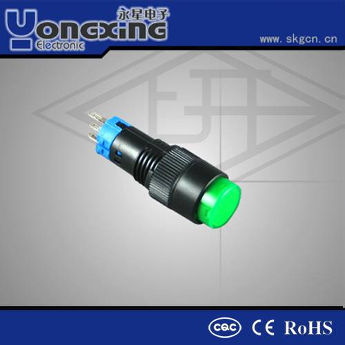 10mm high voltage indicator lamp momentary push button switches