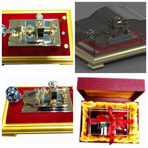 Diecast Telegraph Transmitter Model