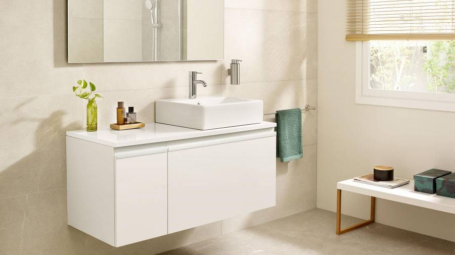 High Glossy Lacquer Bathroom Vanity