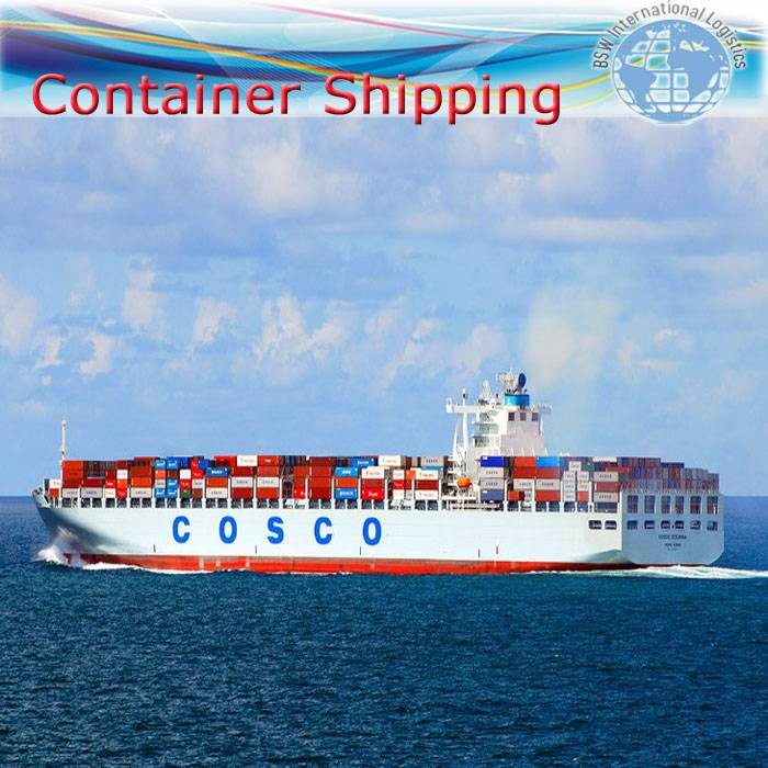 Ocean shipping as FCL 20GP ship from Shenzhen to Jeddah