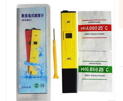pen type ph meter 0.00-14.0 range