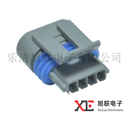 High quality Delphi female 4 pin connector sealed auto connector 12162833
