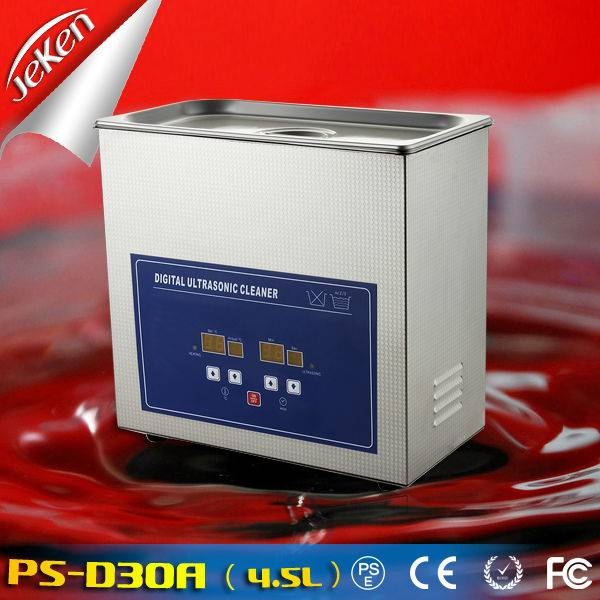 180W Best Used High Quality Digital Portable Ultrasonic Jewelry Cleaner For Sale (Jeken PS-D30A,CE,R