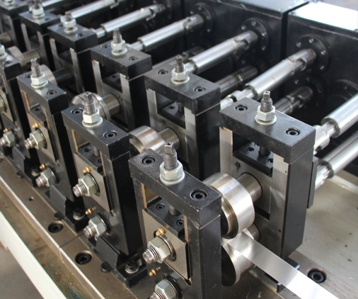 Hollow aluminum spacer bar production line