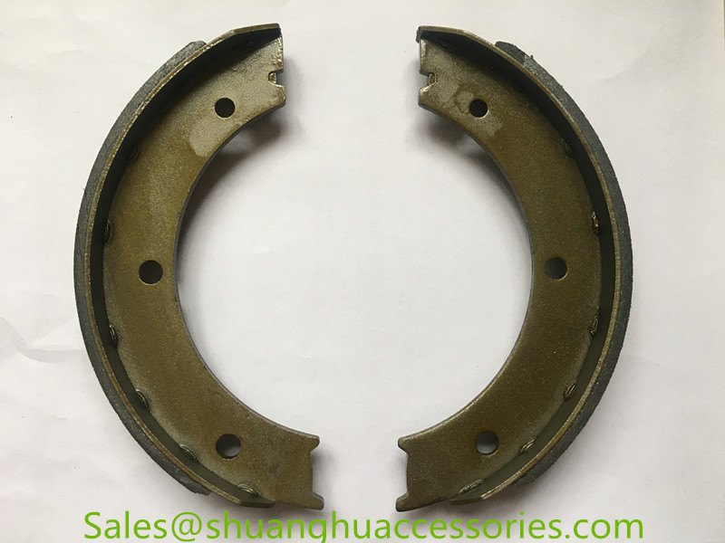 HEBEI002 brake shoes for auto car,non asbestos,good quality steel