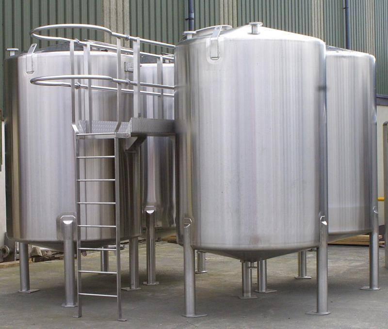 Stainless Steel Sanitary Mixing Tanks