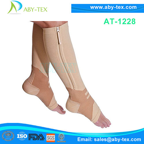 Arch Support Compression Sock with zipper