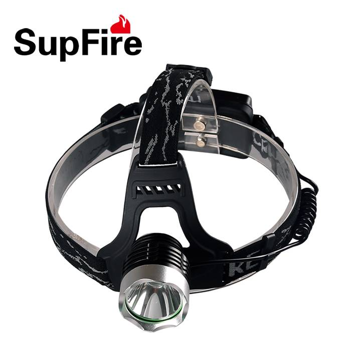 Head flexible adjusted SupFire Hl31 high quality headlamp with LED XML T6 900 lumens