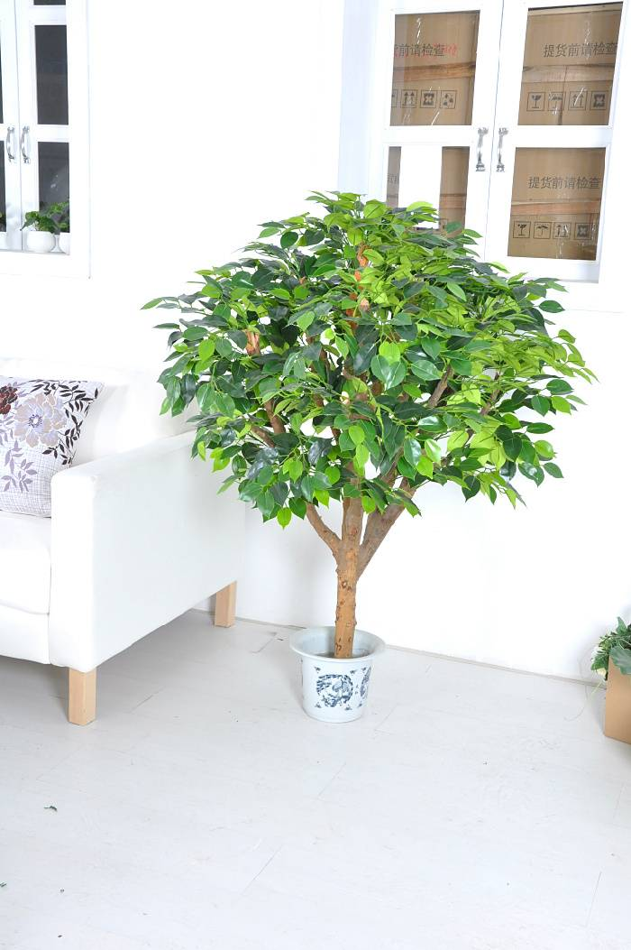 green bonsai artificial banyan tree(for indoor&outdoor decoration)