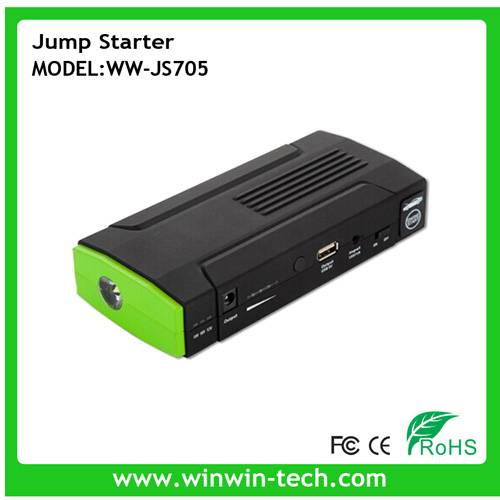 12V 12000mAh Car Jump Starter power bank  with LCD Display