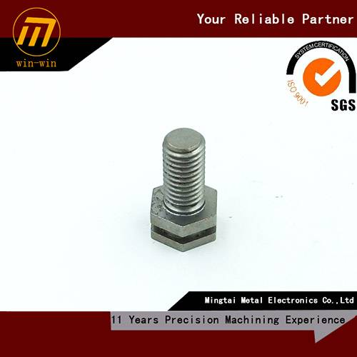 custom CNC machining precision shoulder bolt screw, custom drawing welcome