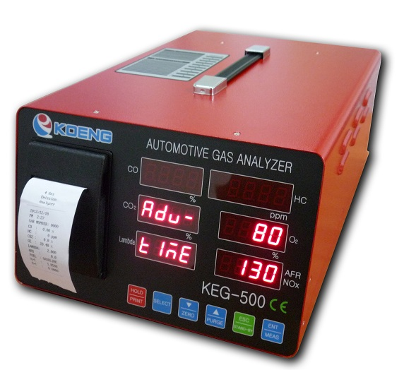 Automotive emission gas analyzer KEG 500