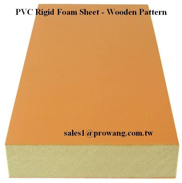 PVC Rigid Foam Sheets - Wooden Color 3