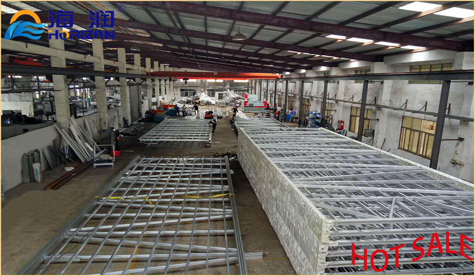 Safe and Stable Galvanized Steel Boat Gangway Ladder