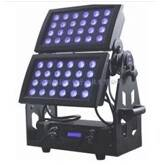 Hot selling New Design 48pcs 18W RGBWA+UV 6IN1 with flightcase LED Wall Painter 10%off Free Shipping